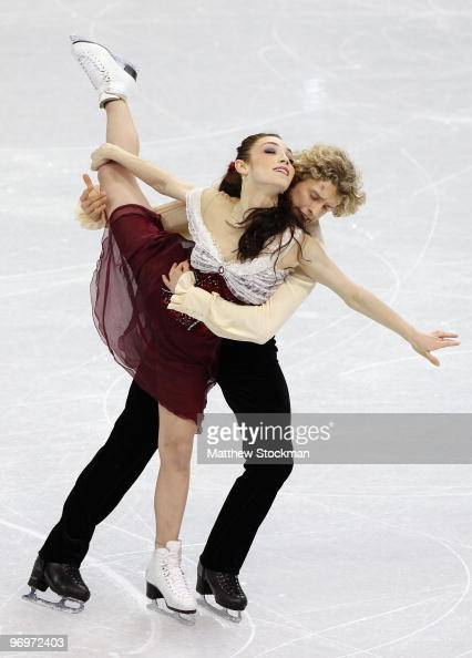 Meryl Davies and Charlie White of USA compete in the free dance portion of the Ice Dance competition on day 11 of the 2010 Vancouver Winter Olympics...