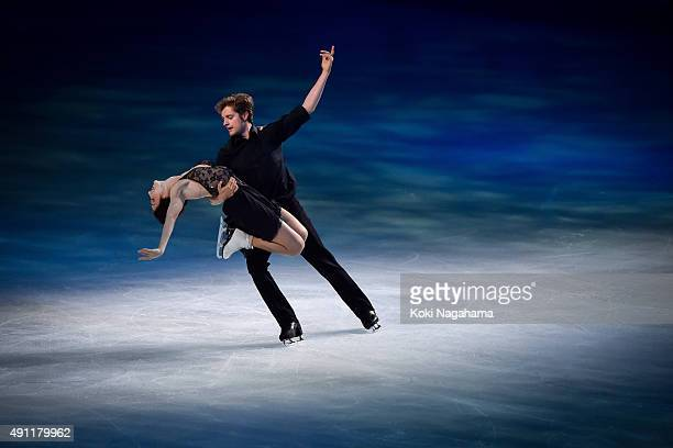 Meryl Davis and Chalie White perform during the Japan Open 2015 Figure Skating at Saitama Super Arena on October 3 2015 in Saitama Japan
