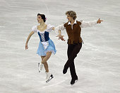 Meryl Davis and Charlie White compete in the Short Dance Program during the 2013 Prudential US Figure Skating Championships at CenturyLink Center on...
