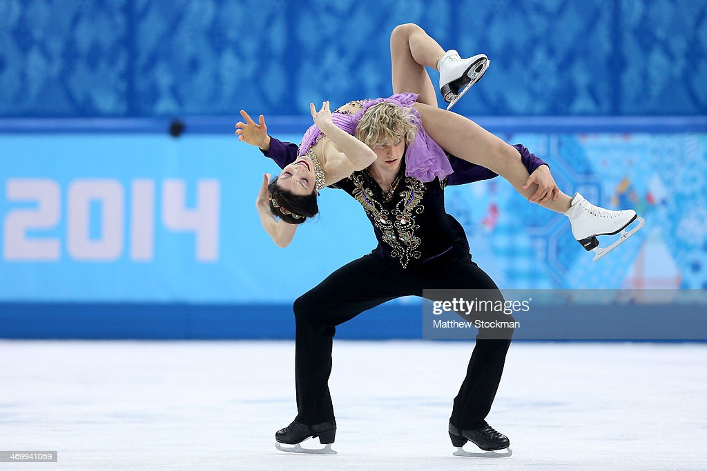 <a gi-track='captionPersonalityLinkClicked' href=/galleries/search?phrase=Meryl+Davis&family=editorial&specificpeople=3995758 ng-click='$event.stopPropagation()'>Meryl Davis</a> and Charlie White of the United States compete in the Figure Skating Ice Dance Free Dance on Day 10 of the Sochi 2014 Winter Olympics at Iceberg Skating Palace on February 17, 2014 in Sochi, Russia.