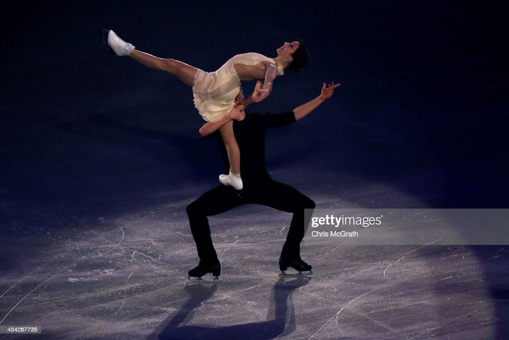 Meryl Davis and Charlie White of the USA perform their routine in the ISU Gala during day four of the ISU Grand Prix of Figure Skating Final 2013/2014 at Marine Messe Fukuoka on December 8, 2013 in Fukuoka, Japan.