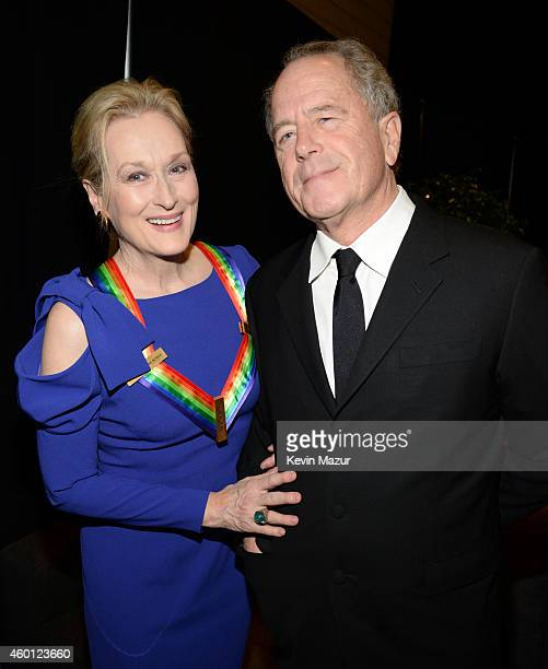 Meryl Streep and Don Gummer attend the 37th Annual Kennedy Center Honors at The John F Kennedy Center for Performing Arts on December 7 2014 in...