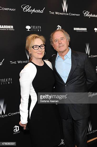Meryl Streep and Don Gummer attend The Weinstein Company Academy Award party hosted by Chopard on March 1 2014 in Beverly Hills California