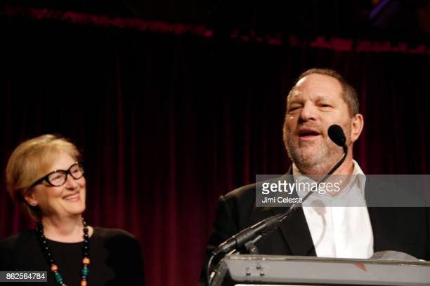 Meryl Streep and Harvey Weinstein attend CHRISTOPHER AND DANA REEVE FOUNDATION Host A MAGICAL EVENING GALA at Cipriani Wall Street on November 28...