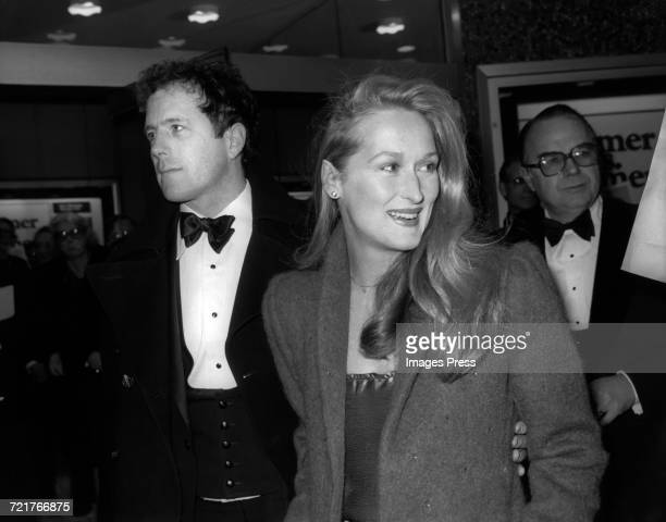 Meryl Streep and husband Don Gummer circa 1980 in New York City