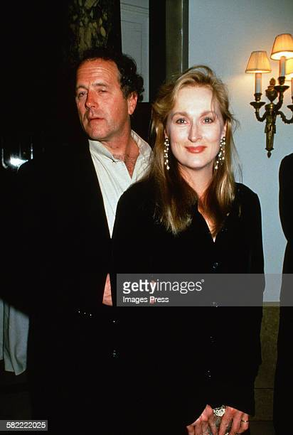 Meryl Streep and husband Don Gummer circa 1994 in New York City