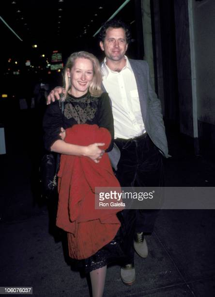 Meryl Streep and Husband Donald Gummer during Opening of 'Crimes of the Heart' November 11 1981 at John Golden Theatre in New York City New York...