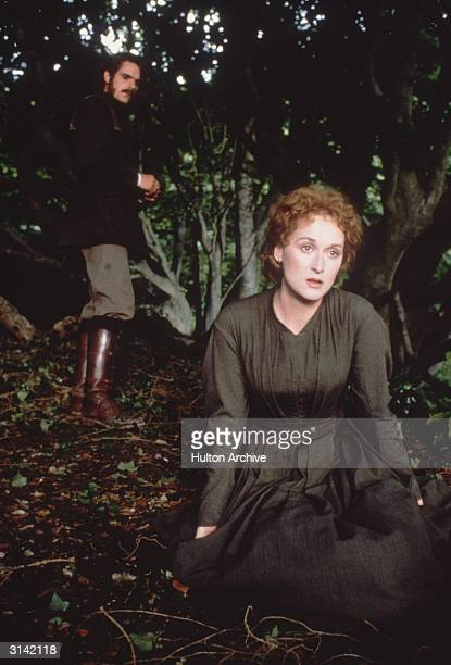 Meryl Streep and Jeremy Irons play the tragic hero and heroine of Karel Reisz' drama 'The French Lieutenant's Woman' based on the novel by John Fowles