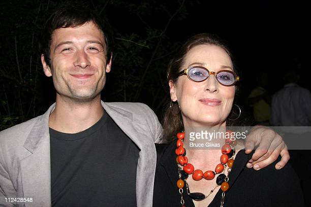 Meryl Streep and son Henry Gummer