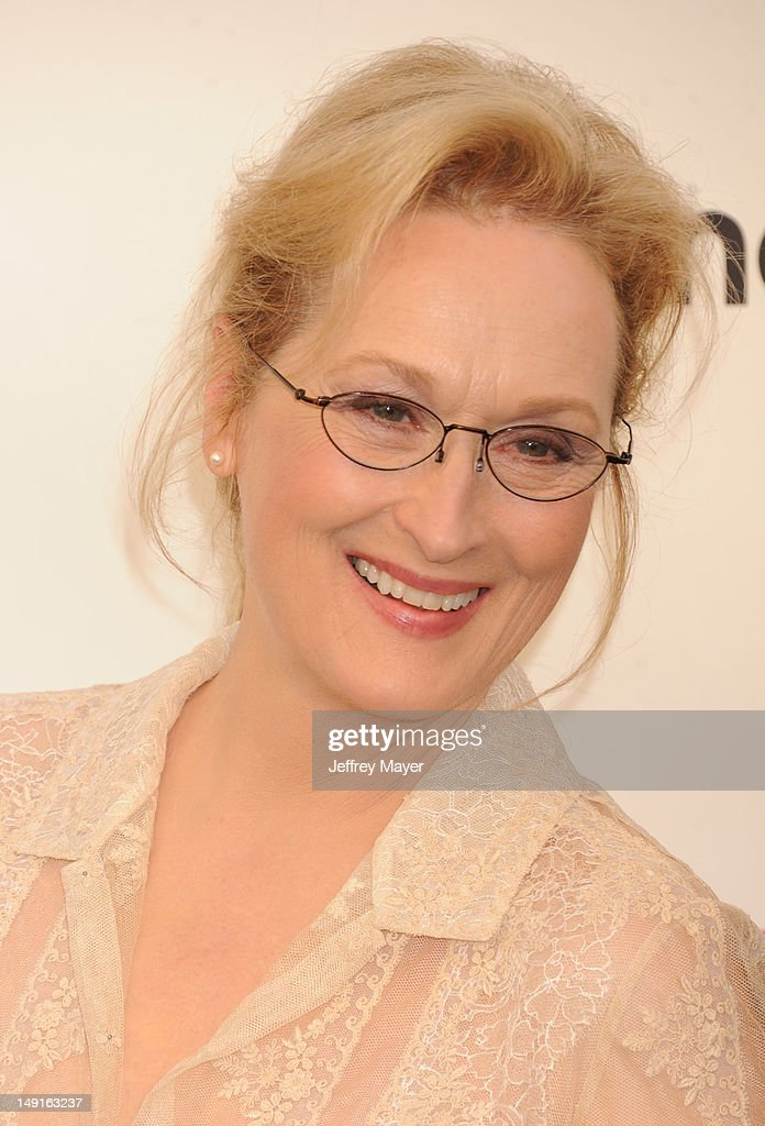 Meryl Streep arrives at the 40th AFI Life Achievement Award honoring Shirley MacLaine at Sony Pictures Studios on June 7, 2012 in Los Angeles, California.