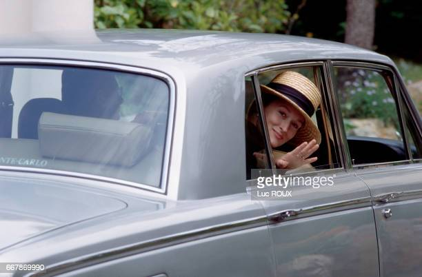 Meryl Streep arrives for the presentation of Fred Schepisi's film Evil Angels at the Cannes Film Festival.