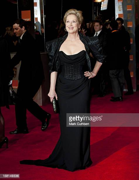 Meryl Streep Arriving For The 2012 Orange British Academy Film Awards At The Royal Opera House Bow Street London