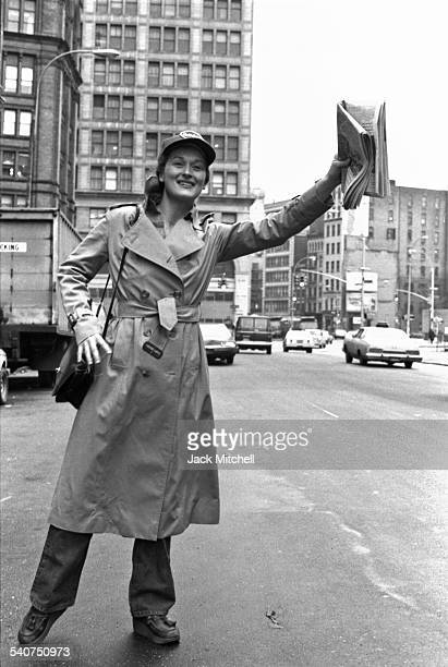 Meryl Streep at Joseph Papp's Public Theater in January 1979