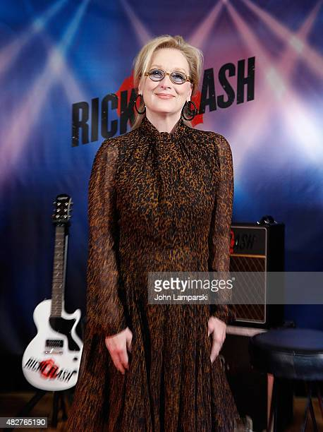 Meryl Streep attends 'Ricki And The Flash' cast photo call at Ritz Carlton Hotel on August 2 2015 in New York City