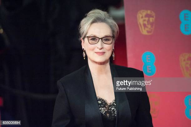 Meryl Streep attends the 70th British Academy Film Awards ceremony at the Royal Albert Hall on February 12 2017 in London England PHOTOGRAPH BY...