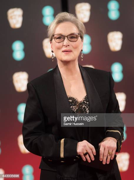 Meryl Streep attends the 70th EE British Academy Film Awards at Royal Albert Hall on February 12 2017 in London England