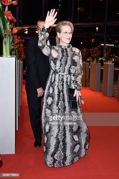 Meryl Streep attends the 'Hail Caesar' premiere during the 66th Berlinale International Film Festival Berlin at Berlinale Palace on February 11 2016...
