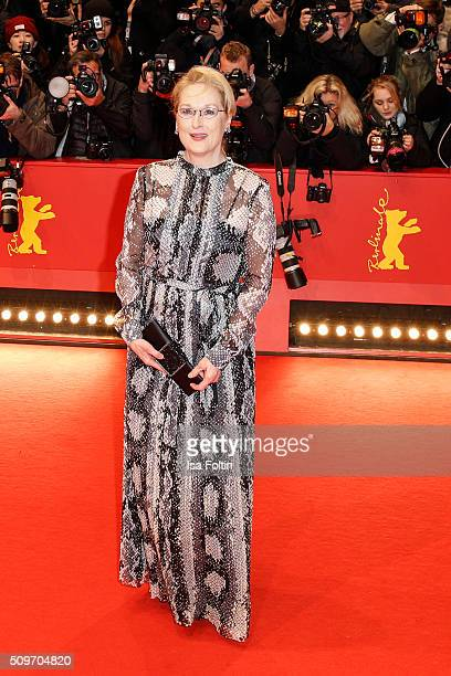 Meryl Streep attends the 'Hail Caesar' Premiere during the 66th Berlinale International Film Festival on February 11 2016 in Berlin Germany
