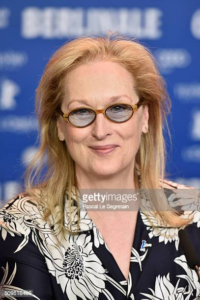 Meryl Streep attends the International Jury press conference during the 66th Berlinale International Film Festival Berlin at Grand Hyatt Hotel on...
