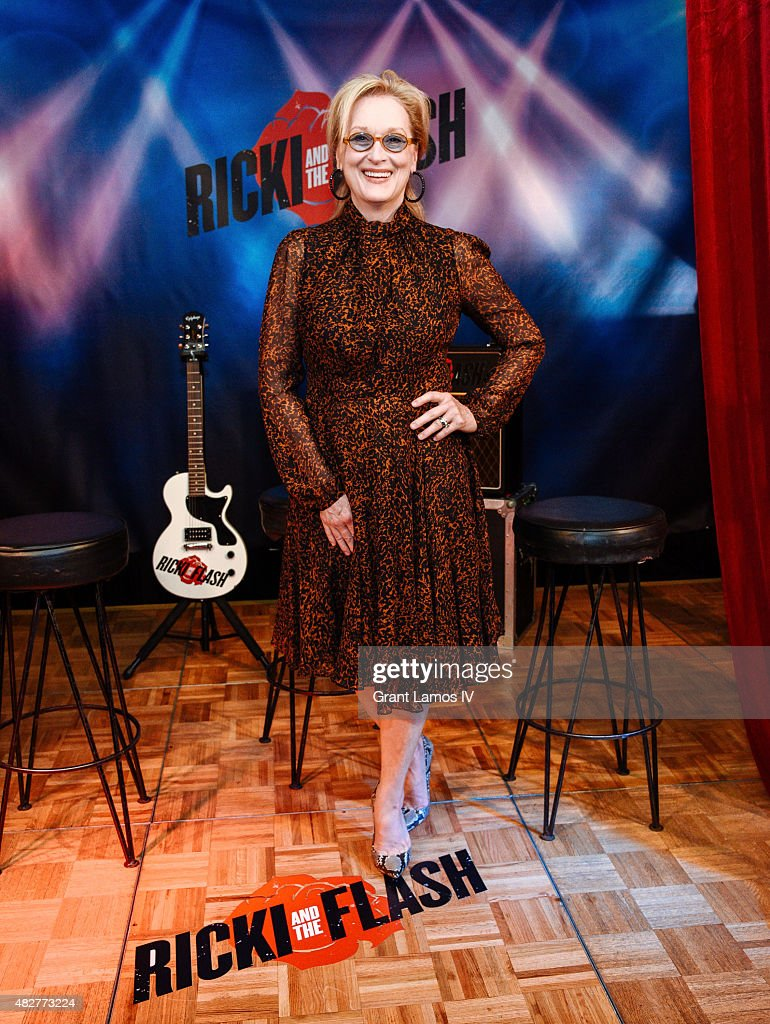 <a gi-track='captionPersonalityLinkClicked' href=/galleries/search?phrase=Meryl+Streep&family=editorial&specificpeople=171097 ng-click='$event.stopPropagation()'>Meryl Streep</a> attends the 'Ricki And The Flash' cast photo call at Ritz Carlton Hotel on August 2, 2015 in New York City.