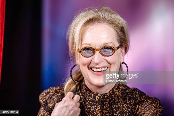 Meryl Streep attends the 'Ricki And The Flash' cast photo call at Ritz Carlton Hotel on August 2 2015 in New York City