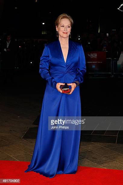 Meryl Streep attends the Suffragette Premiere during the Opening Night Gala during the BFI London Film Festival at Leicester Square on October 7 2015...