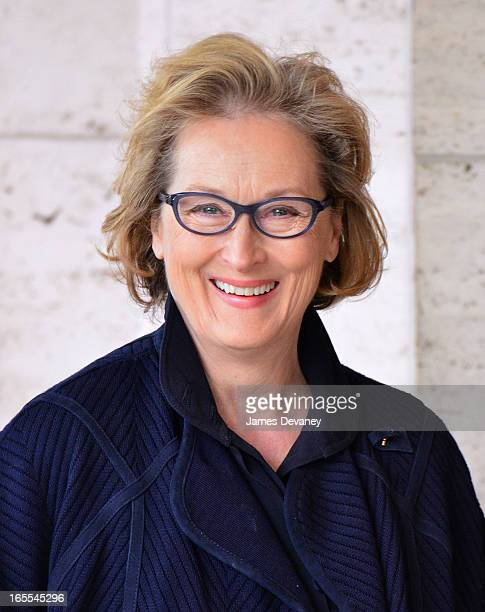 Meryl Streep attends Women in the World Summit 2013 on April 4 2013 in New York City