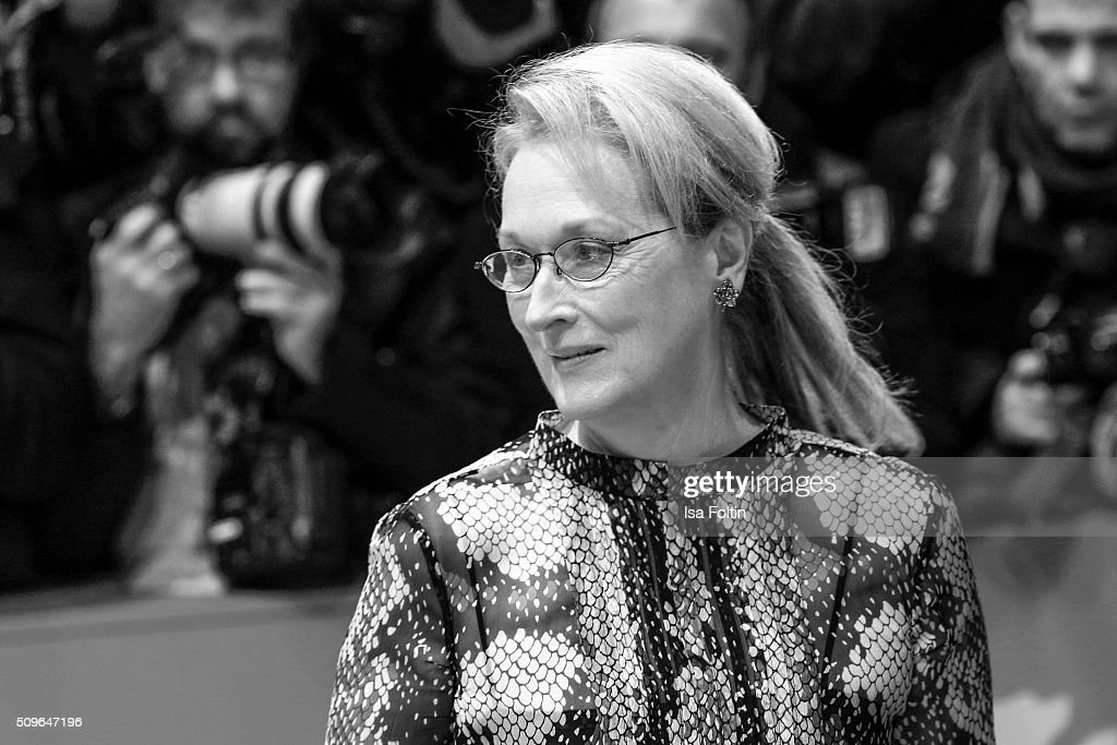 <a gi-track='captionPersonalityLinkClicked' href=/galleries/search?phrase=Meryl+Streep&family=editorial&specificpeople=171097 ng-click='$event.stopPropagation()'>Meryl Streep</a> attends the 'Hail, Caesar!' Premiere during the 66th Berlinale International Film Festival on February 11, 2016 in Berlin, Germany.