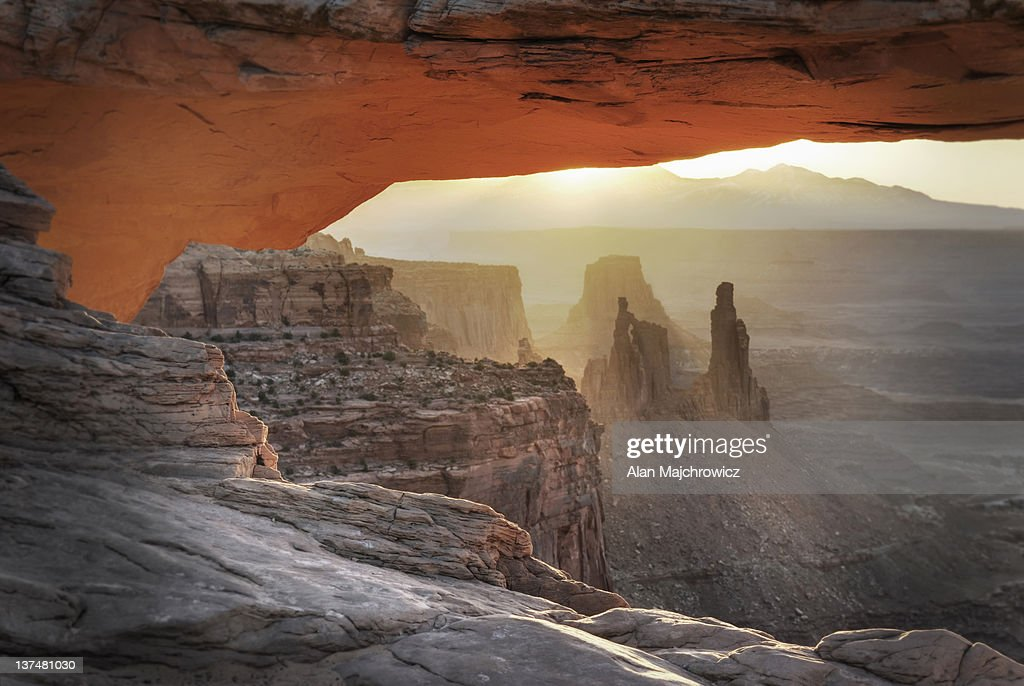 Mesa Arch, Canyonlands National Park : Stock Photo
