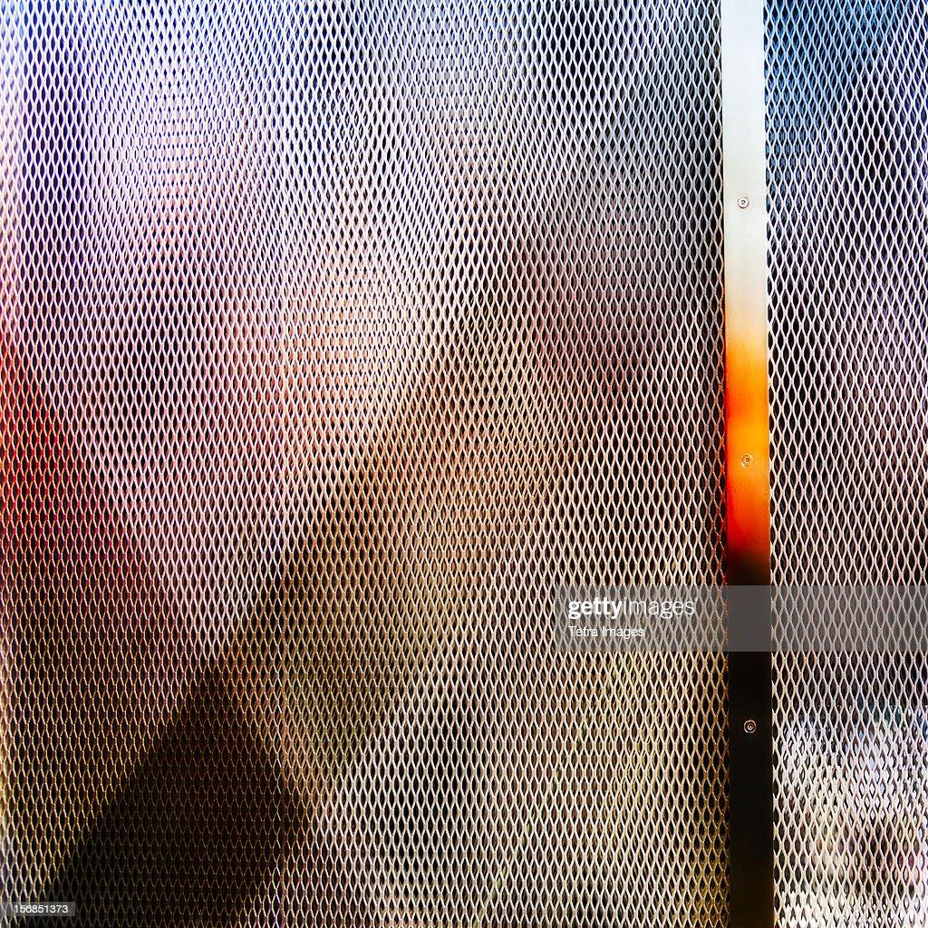 Mesh texture, studio shot