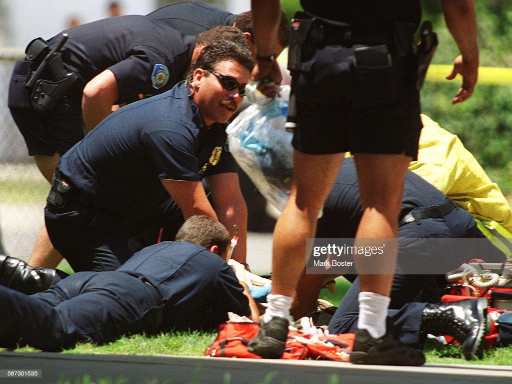 Me Shoot Garden Grove Paramedics And Police