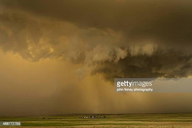 Mesocyclone tornado storm, Pampa, Texas