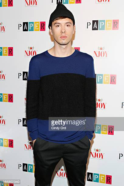 Mess Kid attends Paper Magazine's 16th Annual Beautiful People Party at Top of The Standard Hotel on April 2 2013 in New York City