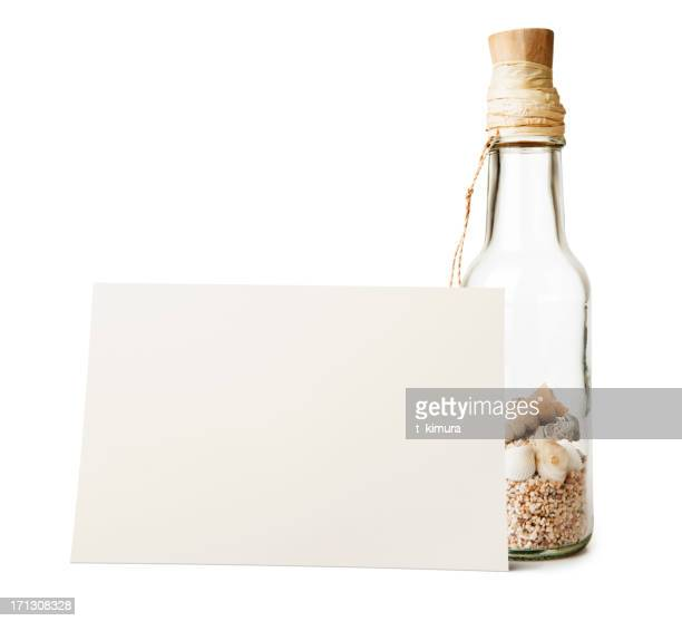 message with bottle