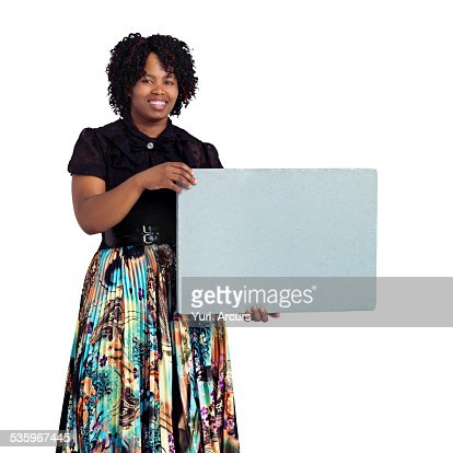 A message worth noticing : Stock Photo