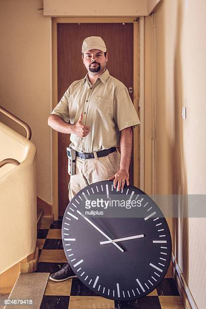 Messenger delivered your parcel right on time