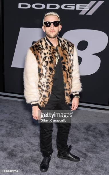 Messiah El Artista attends 'The Fate Of The Furious' New York Premiere at Radio City Music Hall on April 8 2017 in New York City