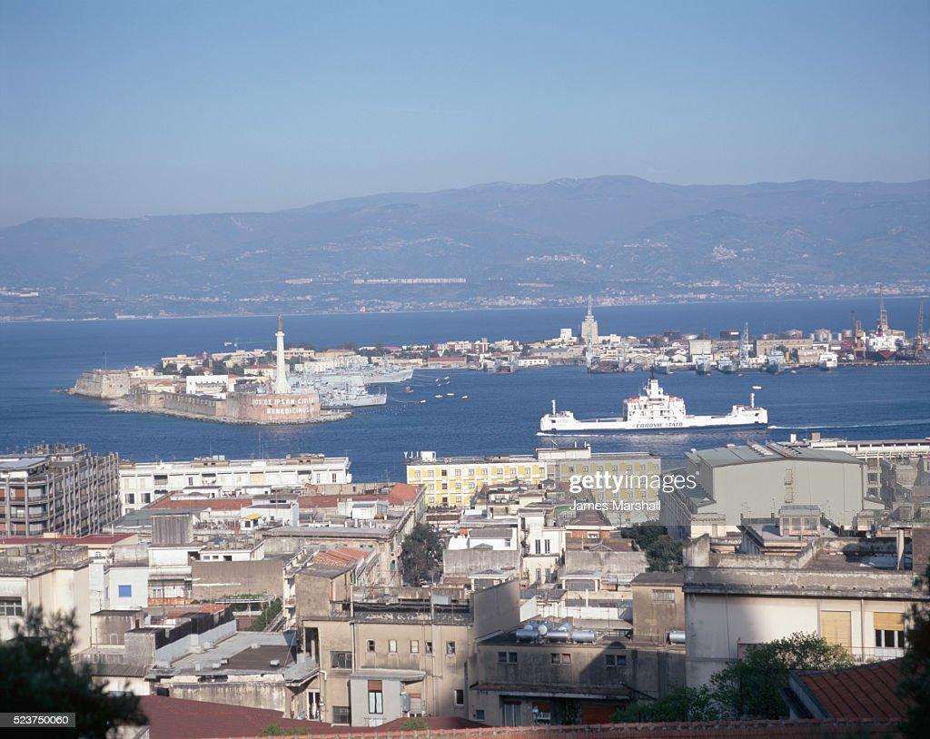 Messina Harbor on Sicily
