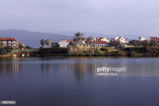 A view of the Ganzirri lake near Messina 11 February 2006 where two sick wild swans were found clinycal analisis on the birds are in course The...