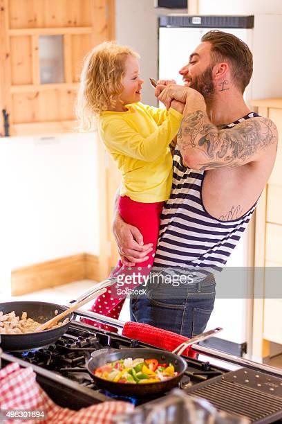 Unternehmungen in der Küche