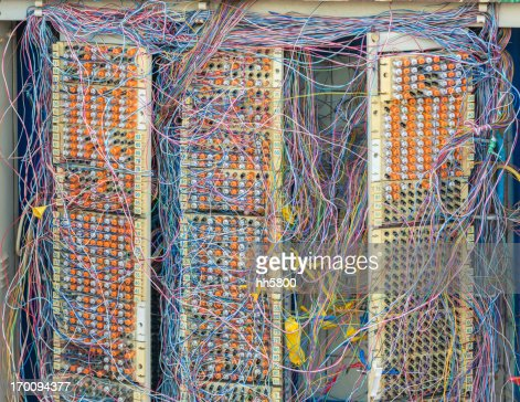 Messy Phone Lines