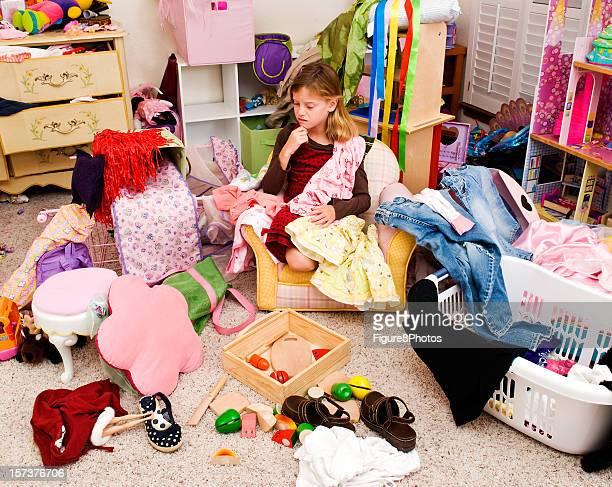 Desordenado habitación