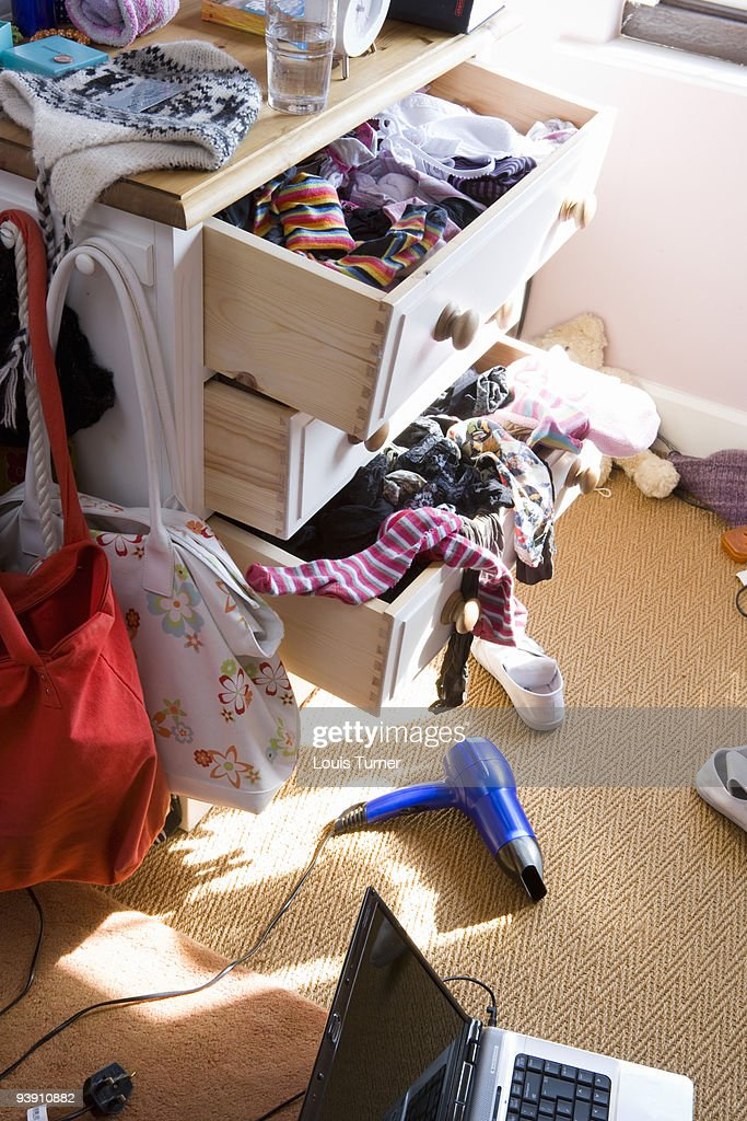 Messy room : Stock Photo