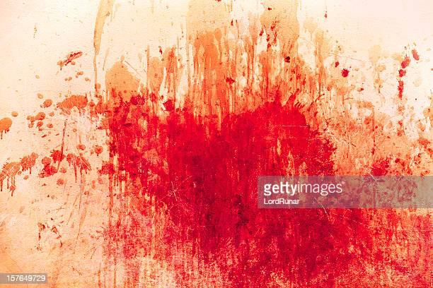 En désordre touches de rouge