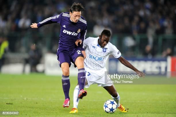 Mesut OZIL / Alain TRAORE Auxerre / Real Madrid Champions League
