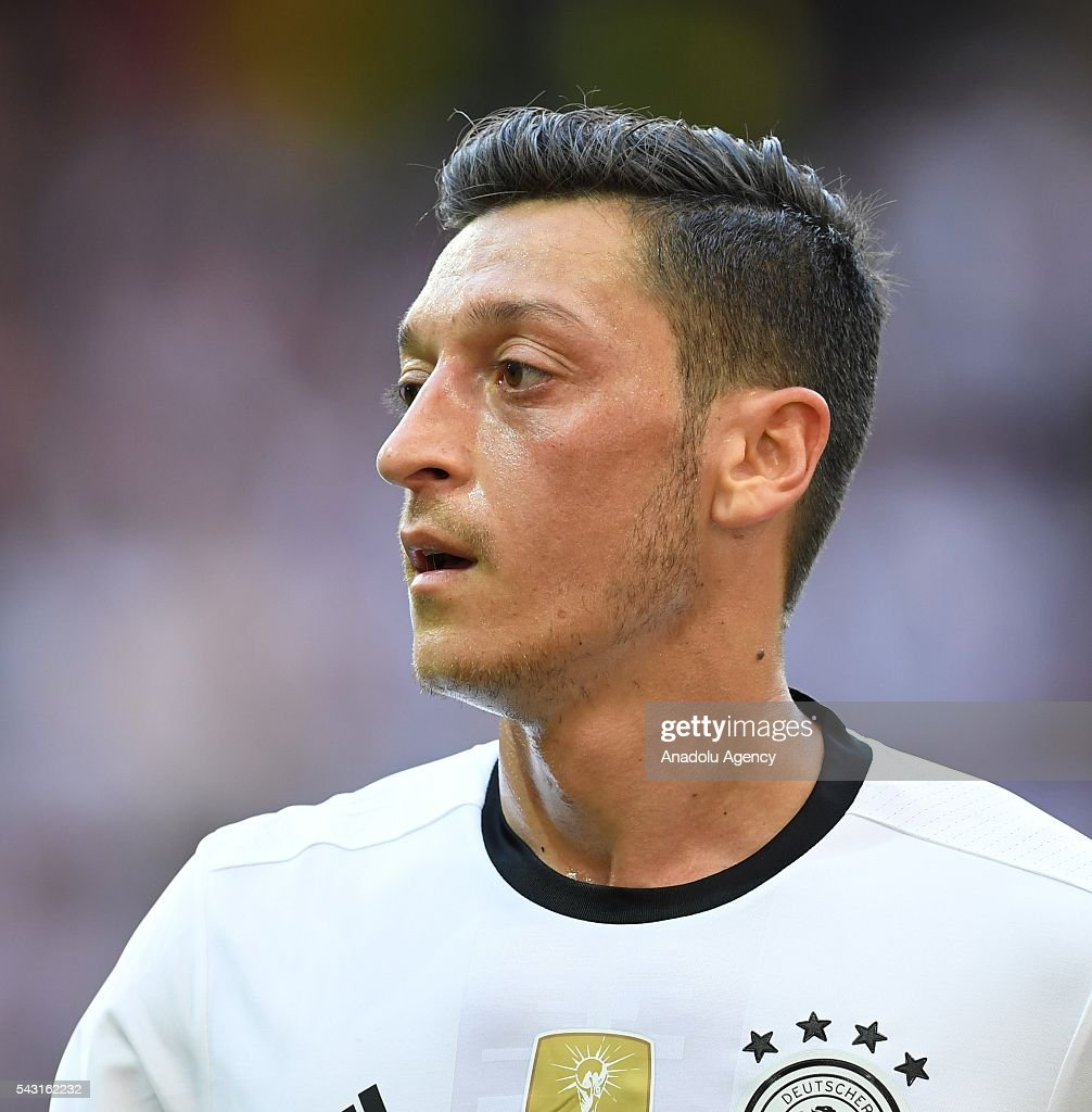 Mesut Ozil of Germany in action during the UEFA Euro 2016 round of 16 football match between Germany and Slovakia at Stade Pierre Mauroy in Lille, France on June 26, 2016.