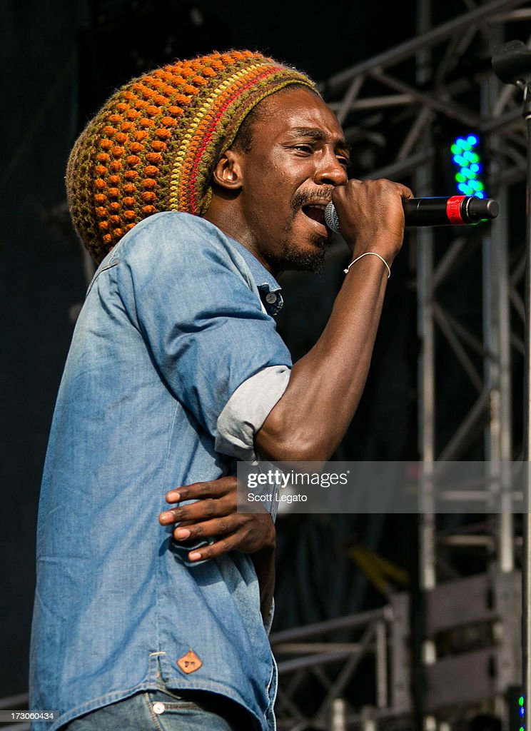Meta & The Cornerstones performs during the Quebec Festival D'ete on July 5, 2013 in Quebec City, Canada.