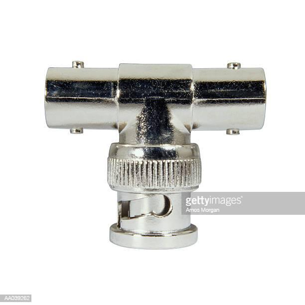 Metal adaptor, close-up