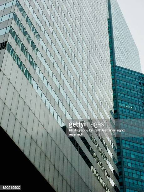 Metal and Glass Cityscape