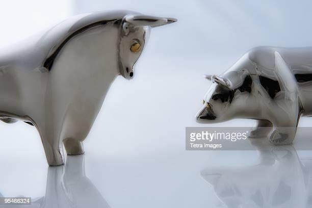 Metal animal figurines